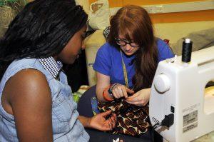 textiles volunteering