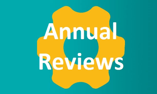 Annual Reviews page button