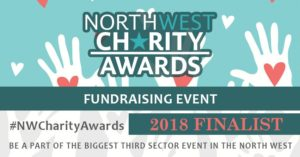 Fundraising Event North West Charity Award Finalist