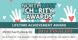 Lifetime AchievementNorth West Charity Award Finalist