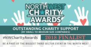 Outstanding Charity Support North West Charity Award Finalist