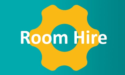 Room Hire page button
