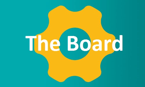 The Board page button