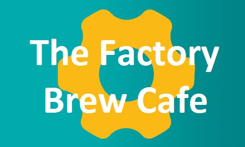 The Factory Brew Cafe page button