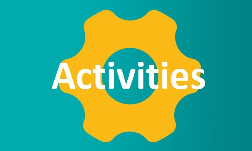 Activities button