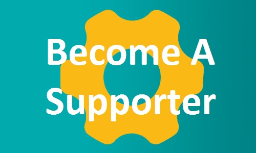 Become a Supporter button