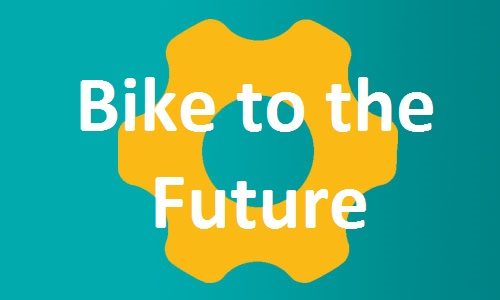 Bike to the Future button