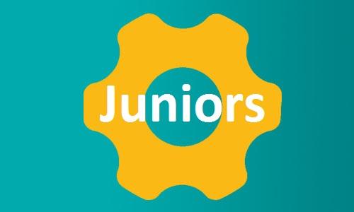Juniors button