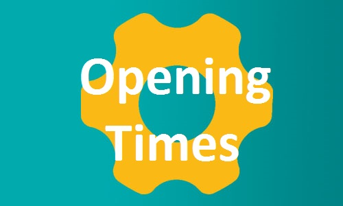 Opening Times button