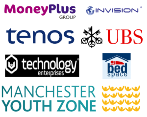Event sponsors: Money Plus Group, Invision, Tenos, UBS, UST, BedSpace