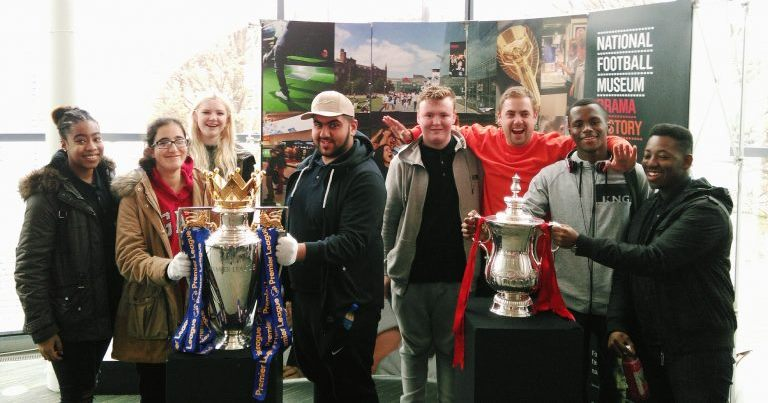 Young Leaders at National Football Museum