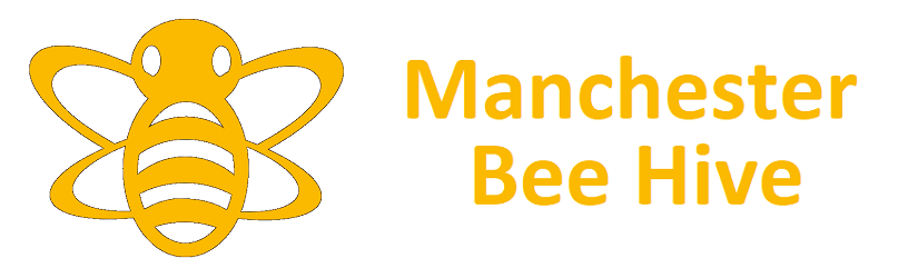 Manchester bee hive banner
