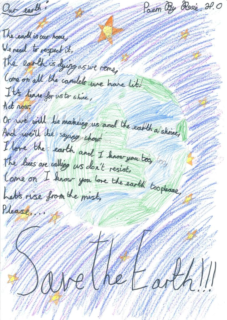 Our Earth - poem by Rosie, age 10