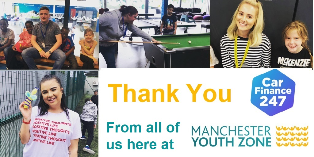 Carfinance247 Join Myz Holiday Club Manchester Youth Zone