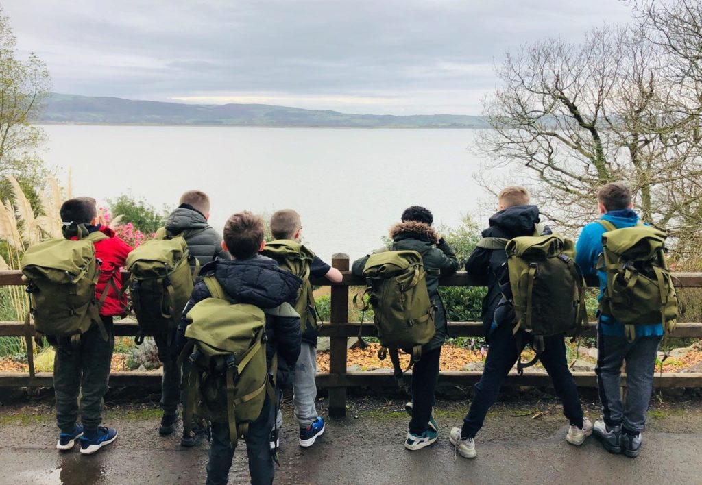 Junior Choices cohort on residential at the Lake District