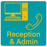 Reception and Admin Volunteer icon