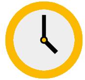 pic: orange clock