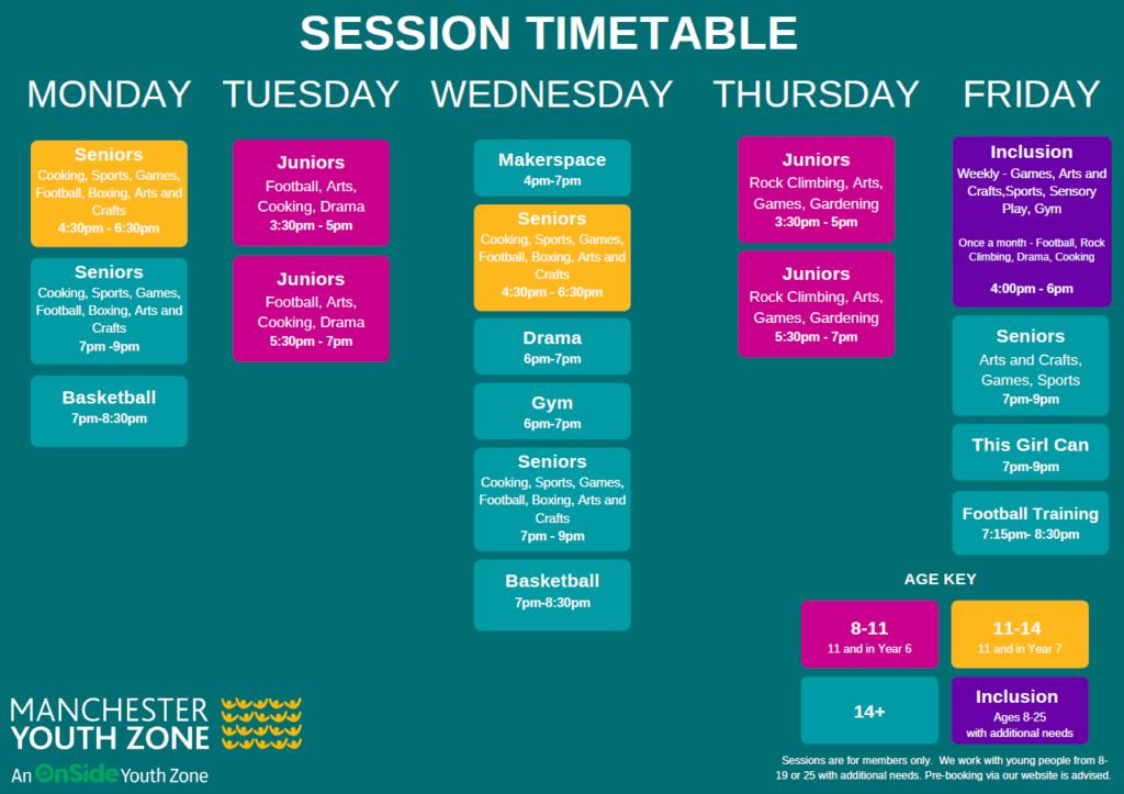 Full Timetable June 2021