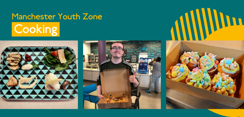 Cooking at Manchester Youth Zone