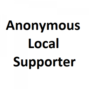 Anonymous Local Supporter